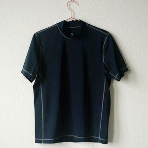 Mens Regular Short Sleeve Rash Vest - 38-40 - Grey Lands End Recommend For Sale xWWO4wQY